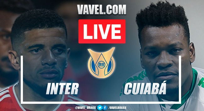 Melhores momentos Inter x Cuiabá pelo Campeonato Brasileiro(0-0)