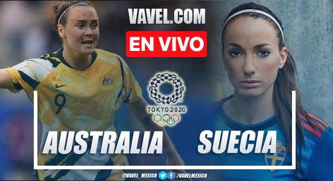 Goles y resumen del Australia 0-1 Suecia en Semifinal Tokio 2020