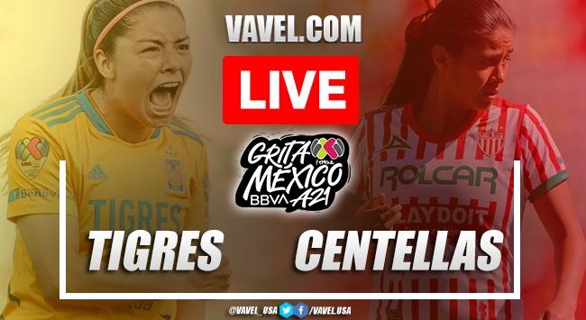 Goals and Highlights: Tigres Women 8-1 Necaxa Women in Liga MX Femenil 2021