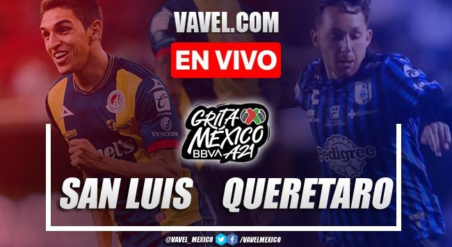 Goles y resumen del Atlético San Luis 1-1 Querétaro  en Liga MX 2021