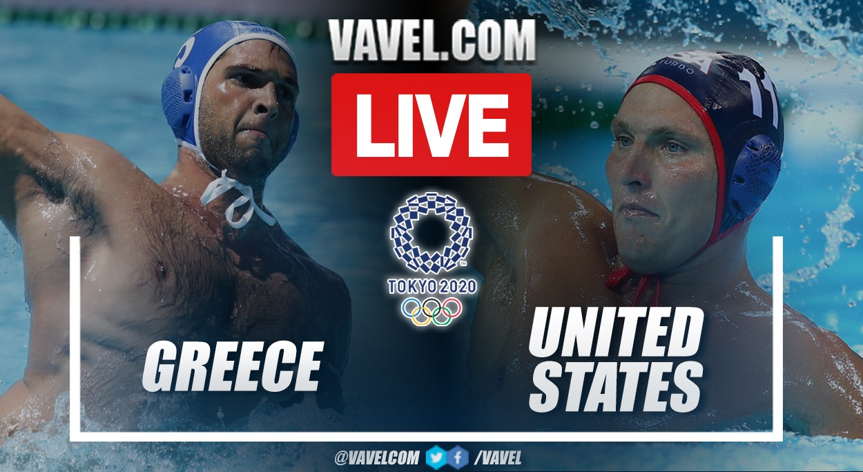 Highlights: Greece 14-5 USA in water polo at the Olympic Games 2020