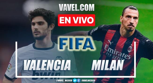 Goles y resumen del Valencia 0-0 Milan en partidos amistosos (5-3) en penales