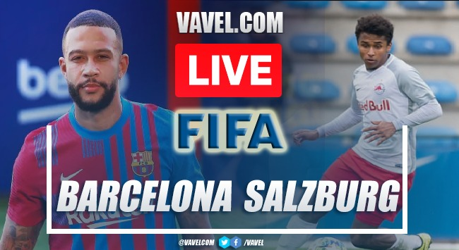 Goals and Highlights: Red Bull Salzburgo 2-1 Barcelona in Friendly Game 2021