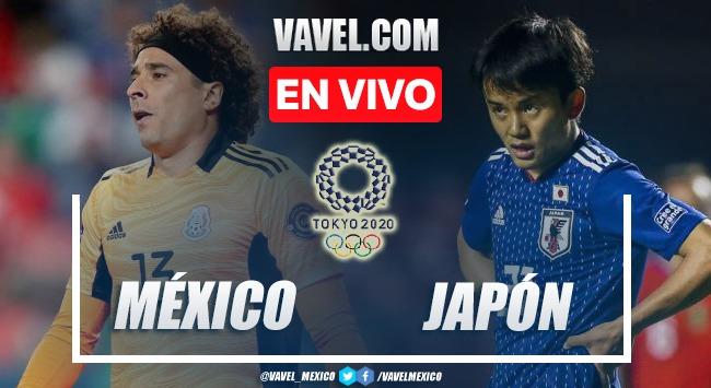 Goles y resumen del México 3-1 Japón en partido por medalla de bronze Tokio 2020