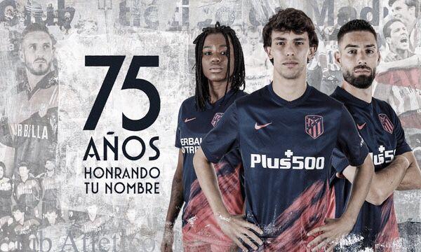 Ya a la venta la segunda equipación del Atlético de Madrid