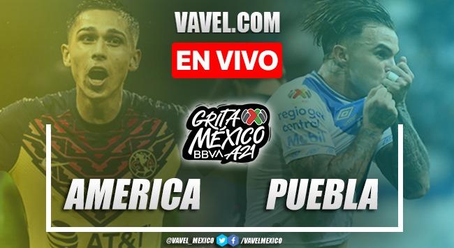 Goles y resumen del América 2-0 Puebla en Liga MX 2021