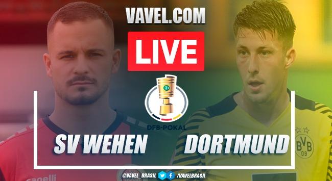 Gols e melhores momentos de Wehen Wiesbaden 0x3 Borussia Dortmund na Copa da Alemanha