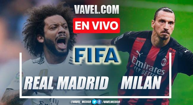 Goles y resumen del Real Madrid 0-0 A.C Milán en Partido Amistoso 2021