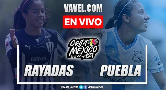 Resumen y goles: Rayadas Monterrey 2-0 Puebla Femenil en Liga MX Femenil