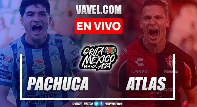 Gol y resumen del Pachuca 0-1 Rojinegros Atlas en Liga MX 2021