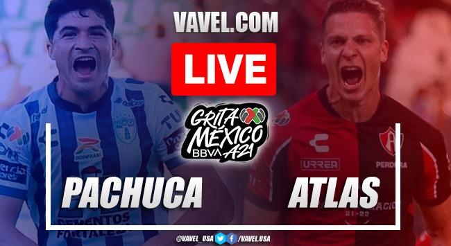 Goal and Highlights: Pachuca 0-1 Atlas in Liga MX 2021