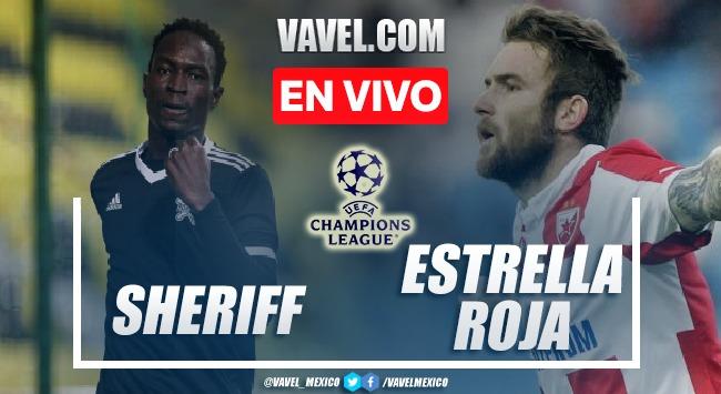 Goles y resumen del Sheriff 1-0 Estrella Roja en Champions League 2021