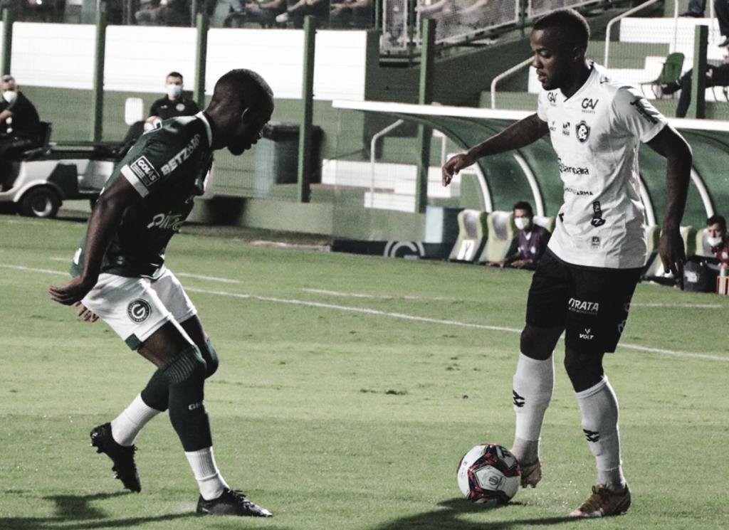 Goiás sai na frente, mas deixa vitória escapar no fim e fica no empate com o Remo