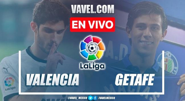 Goles y resumen del Valencia 1-0 Getafe en La Liga Santander 2021