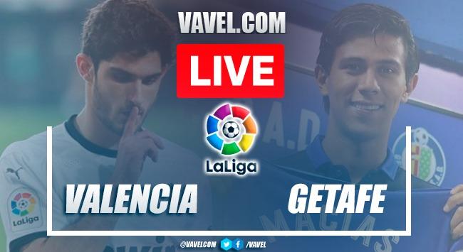 Goals and Highlights: Valencia 1-0 Getafe in La Liga Santander 2021