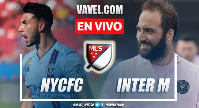 Goles y resumen del New York City 2-0 Inter Miami en MLS 2021