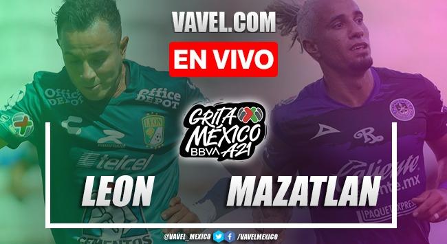 Goles y resumen del León 3-0 Mazatlán en la Liga MX 2021