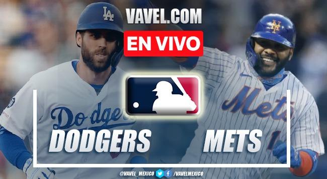 Resumen del Dodgers 4- 3 Mets en MLB 2021