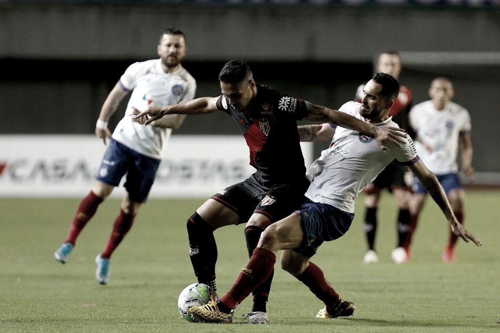 Para afastar fase ruim, Bahia recebe Atlético-GO no Pituaçu