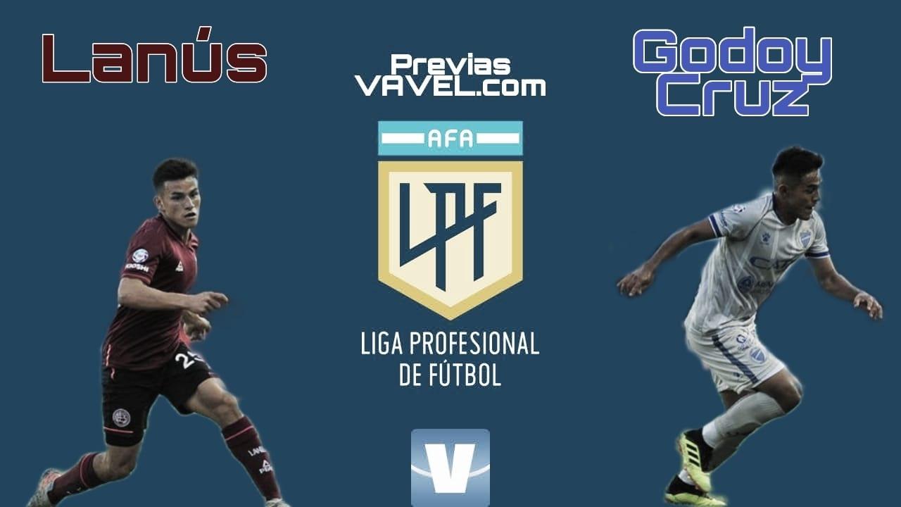 Godoy Cruz vs Lanús: Sigue con la expectativa de ganar