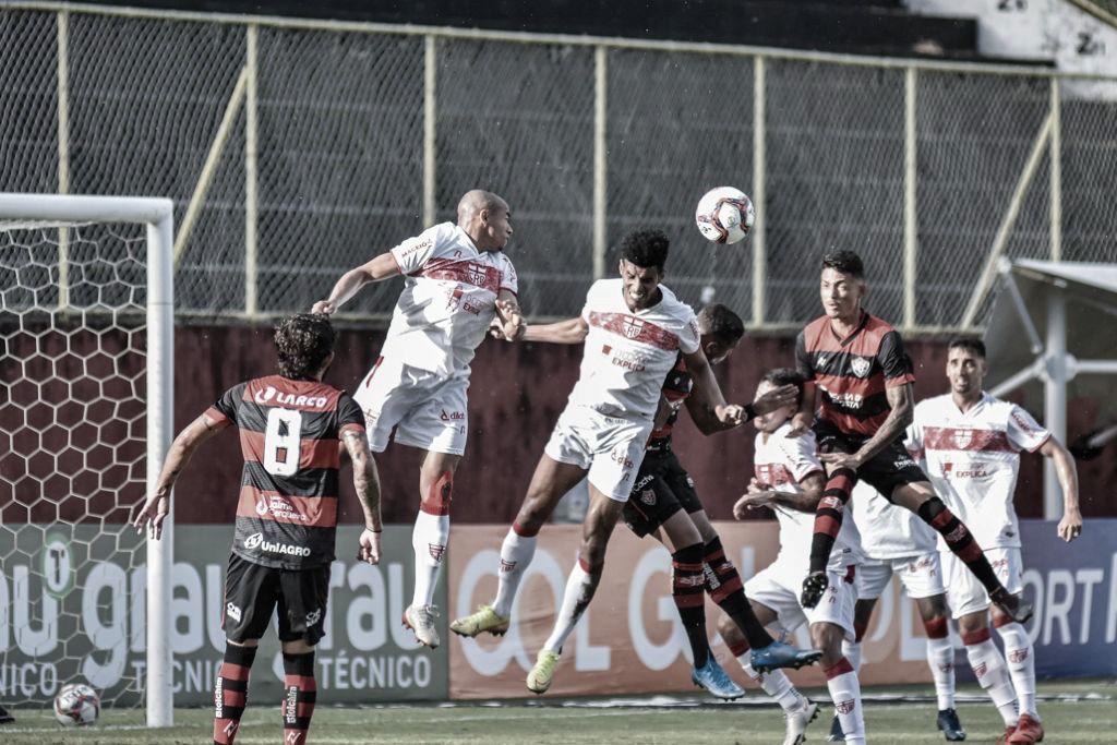 CRB empata com Vitória e perde chance de assumir liderança da Série B