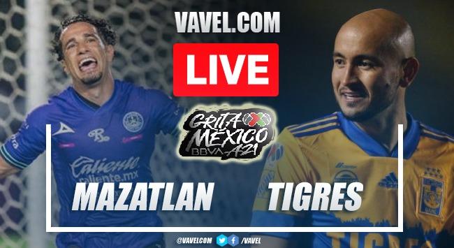 Goals and Highlights: Mazatlan 0-3 Tigres in Liga MX 2021