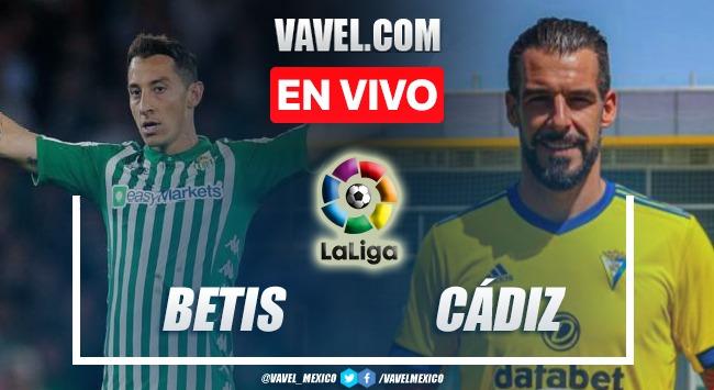 Goles y resumen del Betis 1-1 Cádiz en La Liga 2021