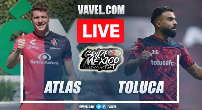 Goals and Highlights: Atlas 0-0 Toluca in Liga MX 2021