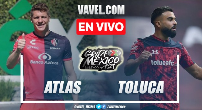 Goles y resumen del Atlas 0-0 Toluca en Liga MX 2021