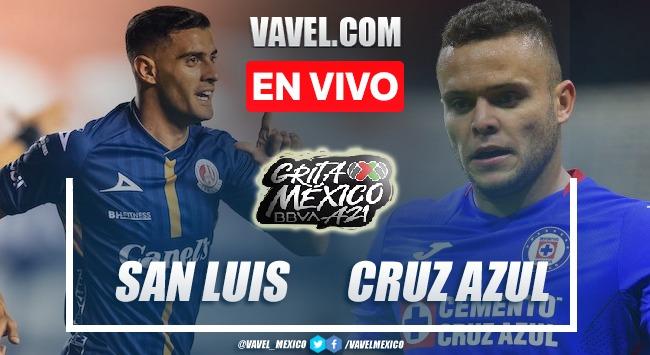 Resumen del Atlético San Luis 0-0 Cruz Azul en Liga MX 2021
