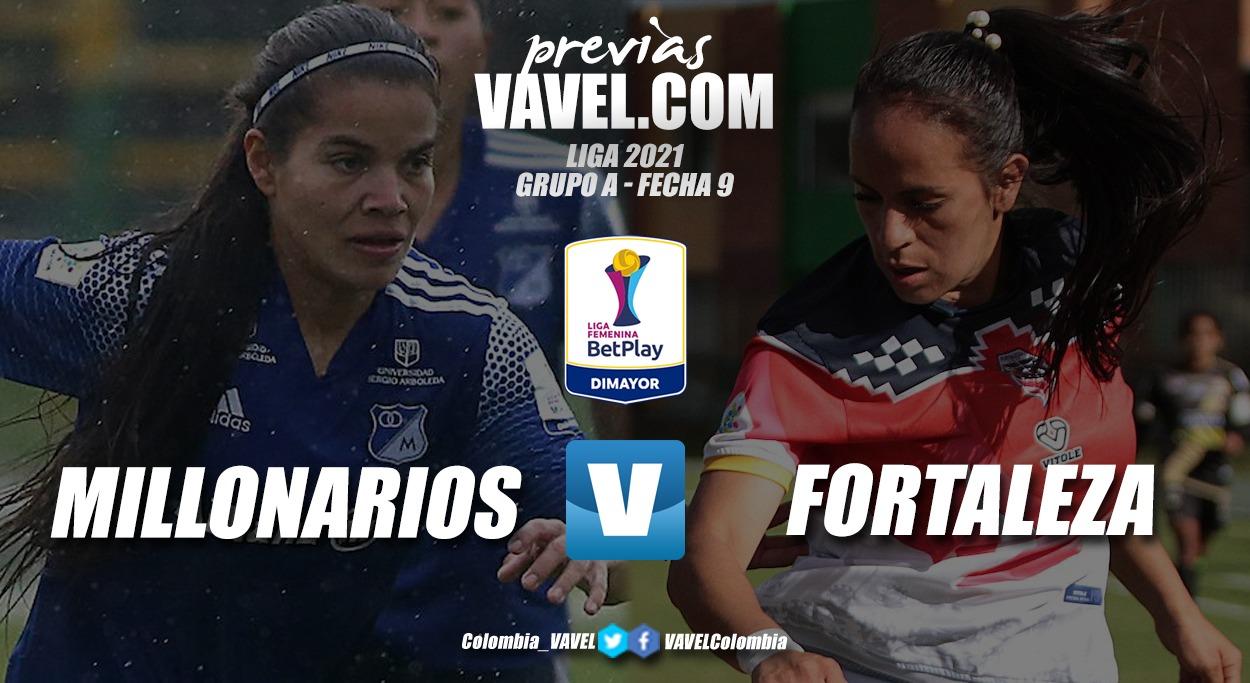 Previa Millonarios vs Fortaleza: un partido definitivo en el grupo A