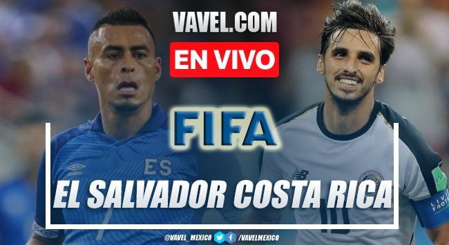 Goles y resumen El Salvador 0-0 Costa Rica en amistosos internacionales