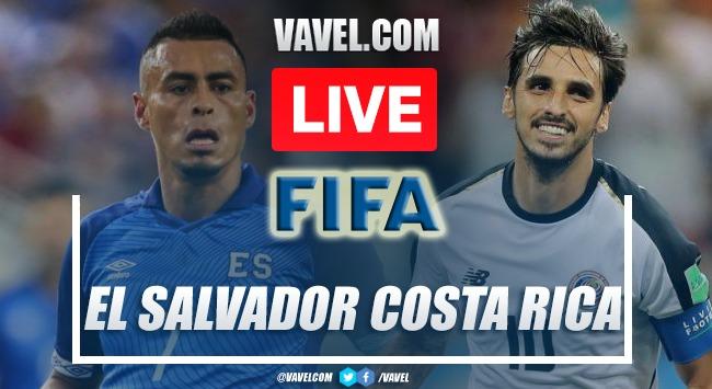 Goals and highlights El Salvador 0-0 Costa Rica in 2021 International friendlies