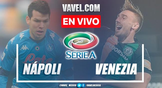 Goles y resumen del Napoli 2-0 Venezia en Serie A 2021