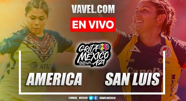 Goles y resumen del América Femenil 4-0 San Luis Femenil en Liga MX Femenil 2021