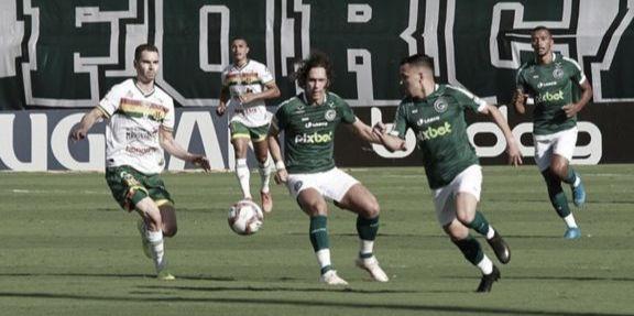 Em jogo movimentado, Goiás e Sampaio Corrêa empatam pela Série B