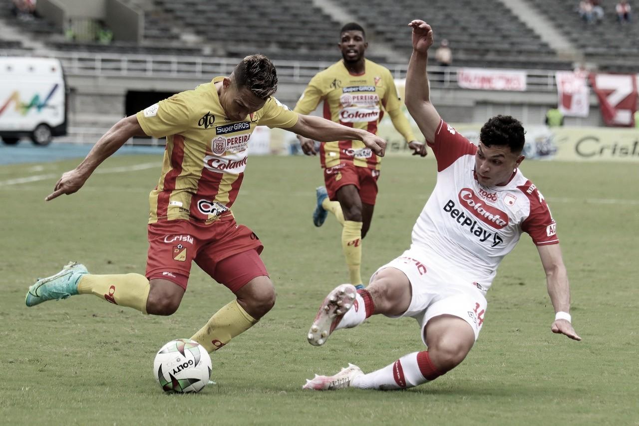 Santa Fe salvó un punto en Pereira
