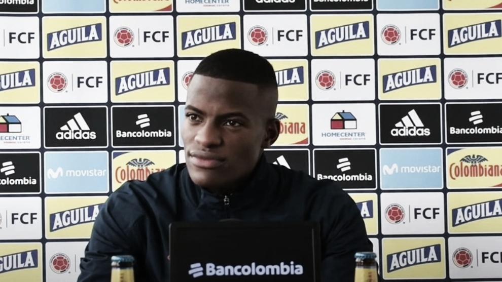 Andrés Felipe Román recibió su primera convocatoria a Selección Colombia