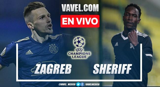 Resumen del Dinamo Zagreb 0-0 Sheriff  en Champions League 2021