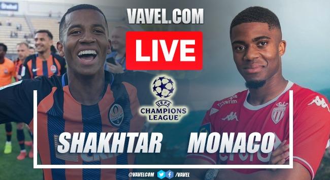 Gols e Melhores Momentos de Shakhtar Donetsk x Monaco (2-2)