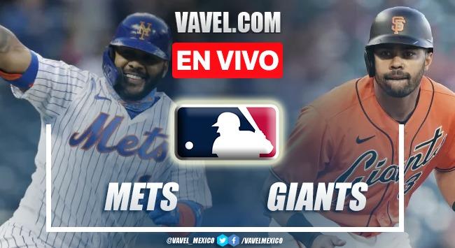 Resumen del Mets 2-3 Giants en MLB 2021
