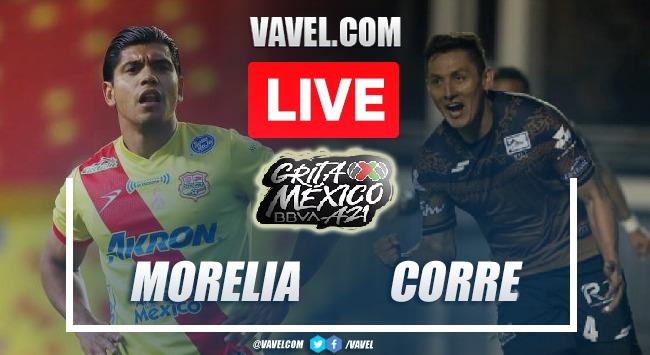 Goals and Highlights: Morelia 2-1 Correcaminos  in Liga Expansion MX 2021