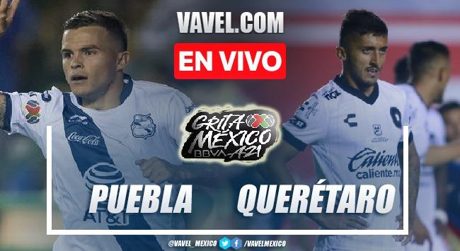 Goles y resumen del Puebla 1-0 Querétaro en Liga MX 2021