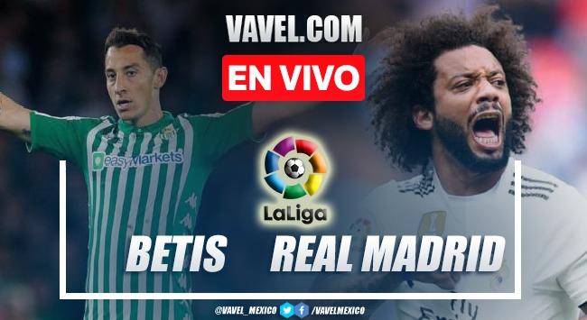 Goles y resumen del Betis 0-1 Real Madrid en LaLiga