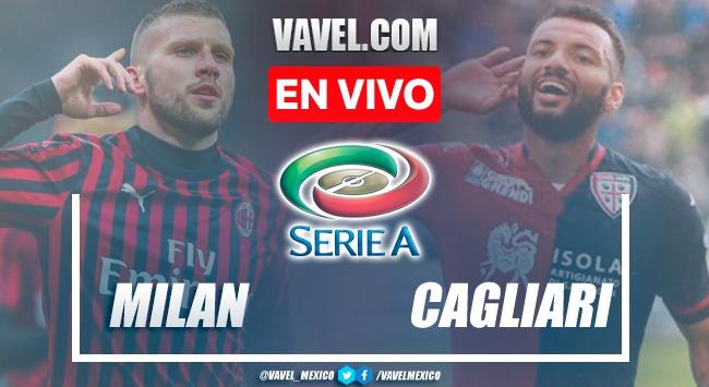 Goles y resumen del Milan 4-1 Cagliari en Serie A 2021