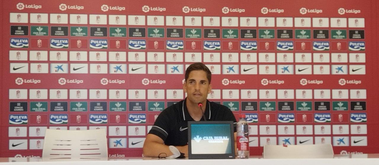 """Robert Moreno: """"Hay que mantener la fiabilidad defensiva que hemos demostrado en los últimos partidos"""""""