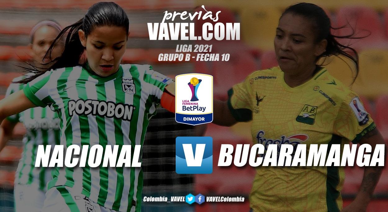 Previa Nacional vs Bucaramanga: ganar o morir en la ciudad de la eterna primavera