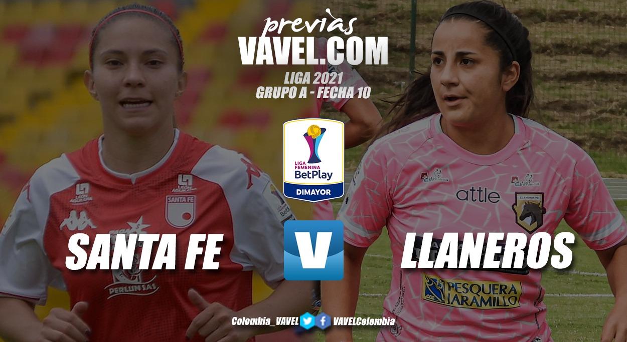 Previa Independiente Santa Fe vs. Llaneros: partido de trámite en el grupo A