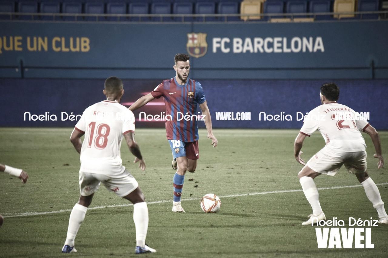El Barça B de Sergi Barjuan se estrena con empate en la 1a RFEF