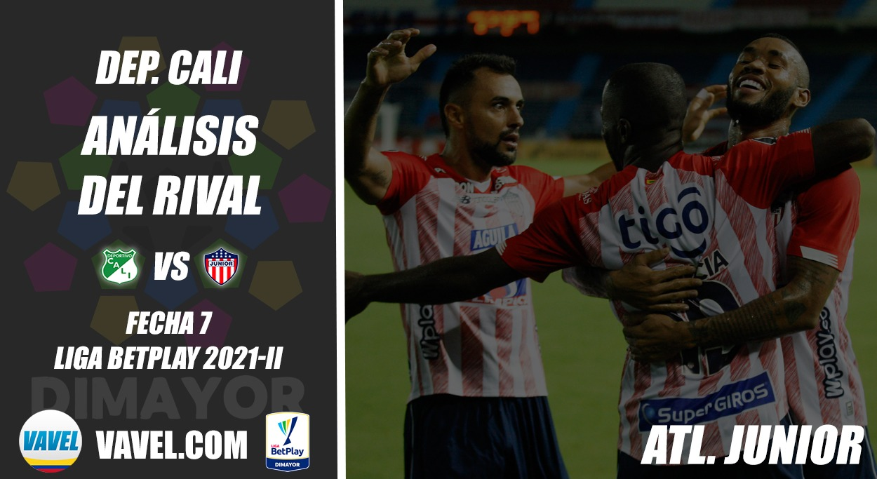 Deportivo Cali, análisis del rival: Junior de Barranquilla (Fecha 7, Liga 2021-II)